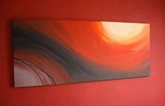 Cuadros decoraci n - Cuadros abstractos paso a paso ...